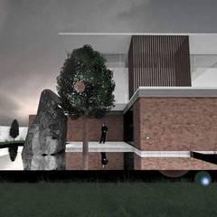 CASA SA-ME: Casas de estilo  por CAJA Arquitectos