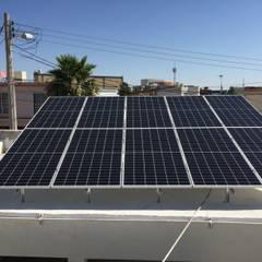 رووف تراس تنفيذ CORSA grupo constructor / CORSA energia solar,