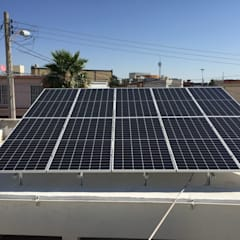 Roof terrace توسطCORSA grupo constructor / CORSA energia solar, مدرن آلمینیوم