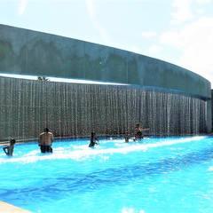 Stadiums توسطBrassea Mancilla Arquitectos, Santiago, مدرن سیمان