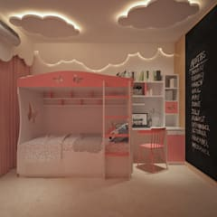 Habitaciones para niñas de estilo  por Spacevalue , Moderno