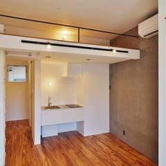 Petites cuisines de style  par ユウ建築設計室