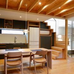 บันได โดย ユウ建築設計室, สแกนดิเนเวียน