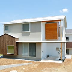 公園の傍の家: ユウ建築設計室が手掛けた木造住宅です。,北欧