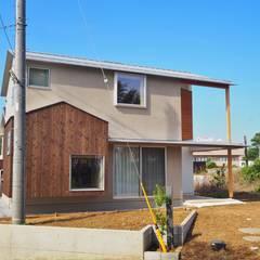 منزل خشبي تنفيذ ユウ建築設計室