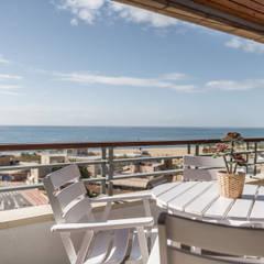 Balkon door Silvia R. Mallafré, Mediterraan Hout Hout
