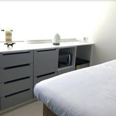 Consultorio medicina estética: Clínicas / Consultorios Médicos de estilo  por Estudio Chipotle, Moderno Madera Acabado en madera