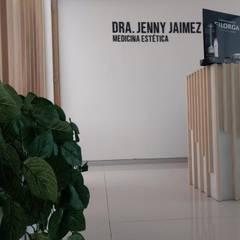 Consultorio medicina estética: Clínicas / Consultorios Médicos de estilo  por Estudio Chipotle, Moderno Plástico