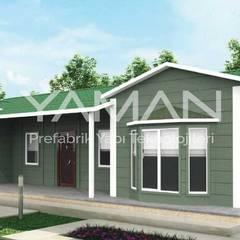 บ้านสำเร็จรูป โดย Prefabrik Ev (Yaman Prefabrik), โมเดิร์น เหล็ก