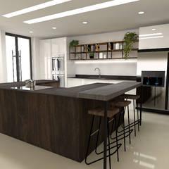 Cocinas: Cocinas integrales de estilo  por Naromi  Design