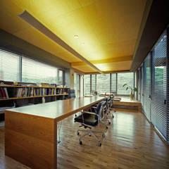 F OFFICE (오피스), 삼성동: M's plan 엠스플랜의  서재 & 사무실,모던
