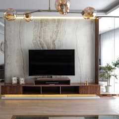 LIA Mimarlik İcmimarlik – Kuşçu Evi:  tarz Oturma Odası,