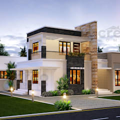 Single family home by CreoHomes Pvt Ltd, Asian