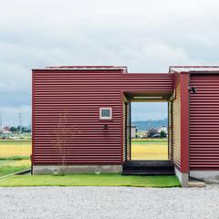a.un 建築設計事務所의  일세대용 주택