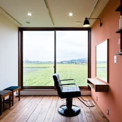 uPVC windows by a.un 建築設計事務所,