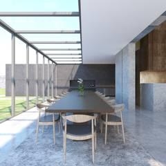 Robus Mimarlık Mühendislik – Yıldırım Villa:  tarz Yemek Odası