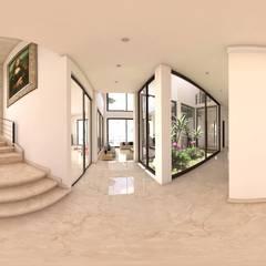 Stairs by acadia arquitectos, Mediterranean Ceramic
