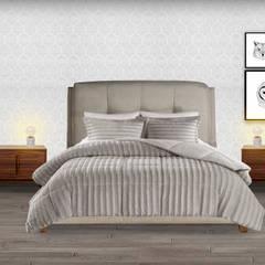 Decoración de interiores, proyecto familiar de moblum: Recámaras pequeñas de estilo  por moblum