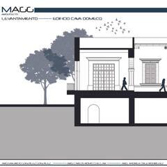 منزل ريفي تنفيذ magg arquitecto , كلاسيكي