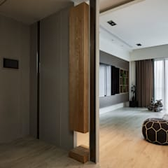 Corridor & hallway by 耀昀創意設計有限公司/Alfonso Ideas, Scandinavian