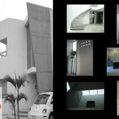 DISEÑO Y CONSTRUCCIÓN RESIDENCIAS: Casas unifamiliares de estilo  por Mar Inn Arquitectura
