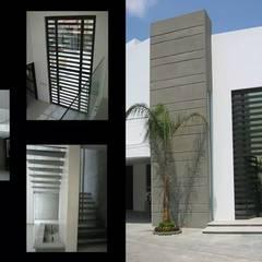 DISEÑO Y CONSTRUCCIÓN RESIDENCIAS: Casas multifamiliares de estilo  por Mar Inn Arquitectura, Minimalista