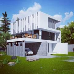 La casa de Lucho en Yerbabuena: Casas unifamiliares de estilo  por Smart Investment Group,