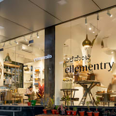 Ellementry retail store , Bangalore :  Offices & stores by flamingo architects