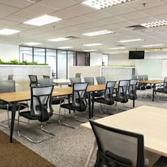 BLACK PEARL CAPITAL @ THE INTERMARK:  Offices & stores by Astin D Concept World Sdn.Bhd, Modern Copper/Bronze/Brass