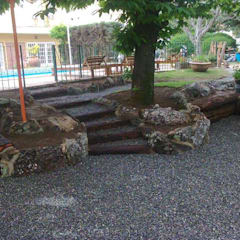 Rock Garden by Landscaping, Rustic