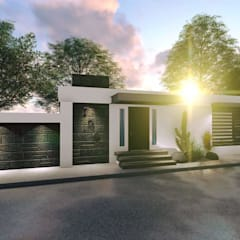 Casa La Primera: Casas de estilo  por Alejandro Ceceña Arquitecto