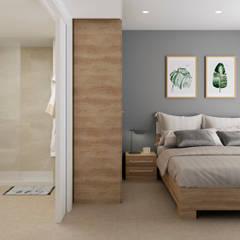 Small bedroom by Ardis3d Proyectos y diseños SL, Modern Ceramic