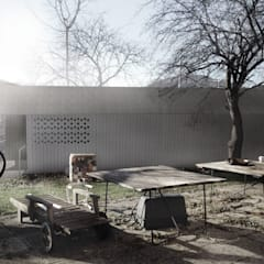 Garden Shed by DILL . Architektur & urbane Aesthetik, Country Wood Wood effect