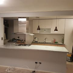Small kitchens by Quitec SpA,