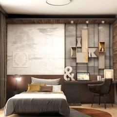 Teen bedroom by Lego İç Mimarlık & İnşaat Dekorasyon , Rustic Wood Wood effect