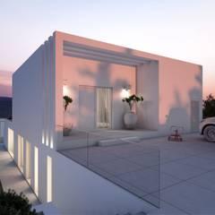 خانه ها توسطTiago Barros Studio, مینیمالیستیک