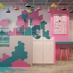 Decorvita mimarlık – Sütlava Kafe:  tarz Yeme & İçme