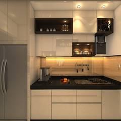 ห้องครัว โดย Clickhomz, โมเดิร์น