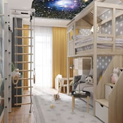 Boys Bedroom by Зоя Ахманаева, Modern