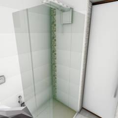 Projeto de interiores para suíte de apartamento Banheiros clássicos por Igor Cunha Arquitetura Clássico