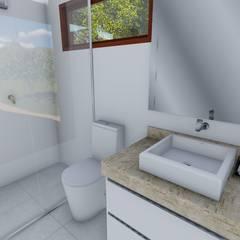 Projeto para banheiros Banheiros clássicos por Igor Cunha Arquitetura Clássico