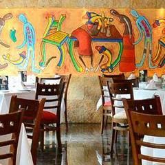 Restaurante Casa Avila Plaza de toros: Restaurantes de estilo  por Creativo 84