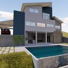 Projeto arquitetônico : Casas  por Igor Cunha Arquitetura