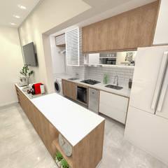 Implantação de Apartamento Residencial 68m2 por Fareed Arquitetos Associados Moderno