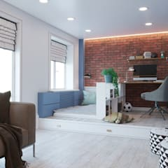 Dormitorios infantiles de estilo  por KORS Design
