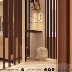 ترميم وتصميم مدخل:  الممر والمدخل تنفيذ Amjad Alseaidan,