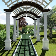 Zen garden by LEVYCH COMPANY