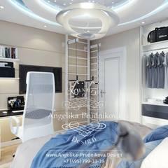 Dormitorios infantiles de estilo  por Дизайн-студия элитных интерьеров Анжелики Прудниковой