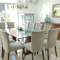 Dining room by Alberto Torsegno  Muebles & Decoracío,