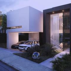 Single family home by MM Arquitetura, Minimalist Concrete